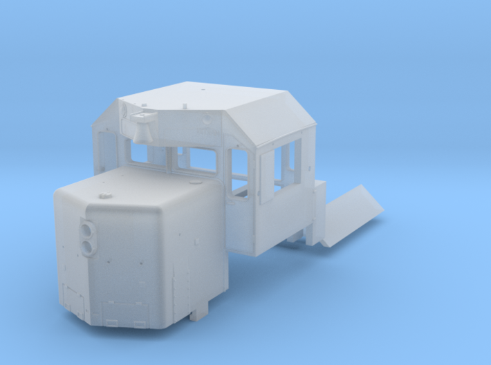 N Scale WC/AC SD40-2 Kit 3d printed