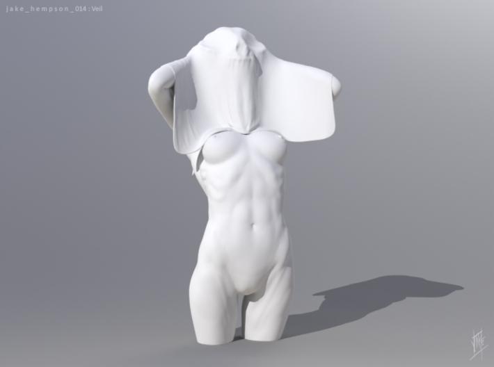 Veil 3d printed