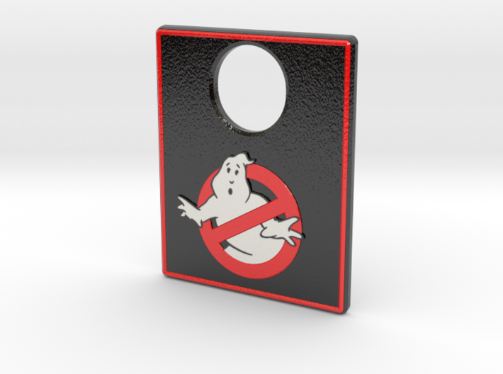 Pinball Plunger Plate - Ghost Bustin 6 3d printed