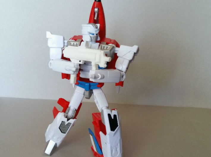 """AP7"" Transformers Weapon (5mm post) 3d printed Combiner Wars Firefly"