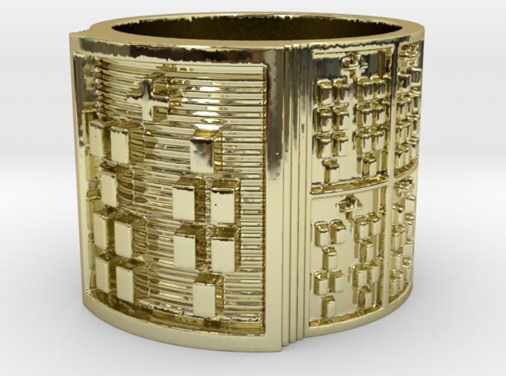 ODIKA Ring Size 11-13 3d printed