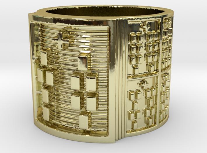 ODITAKOFEÑO Ring Size 11-13 3d printed