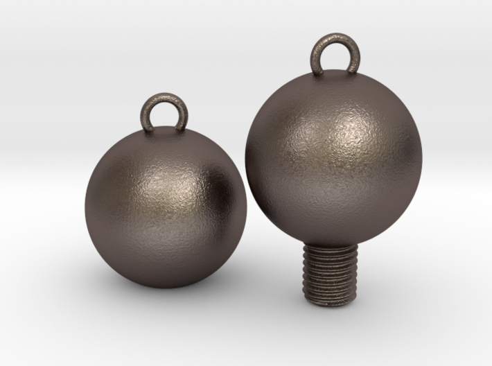 Nuts and Bolts, Spheres/Basic 3d printed