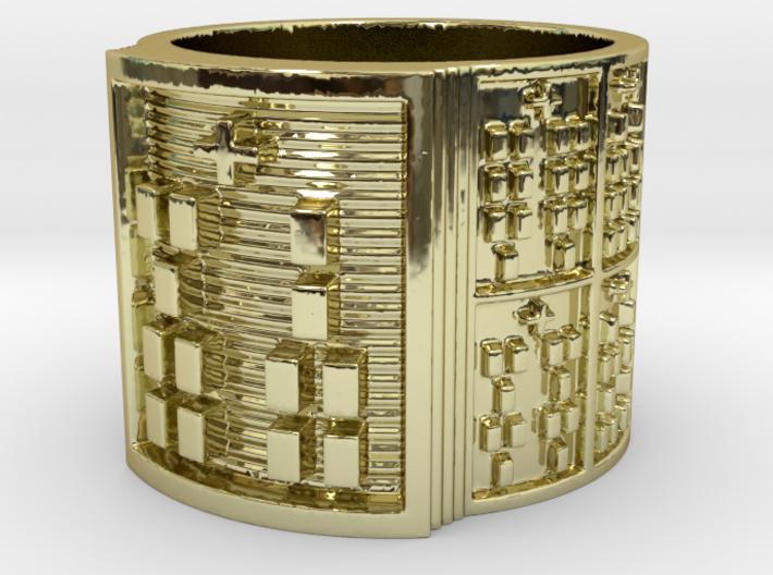 IROSOKA Ring Size 11-13 3d printed