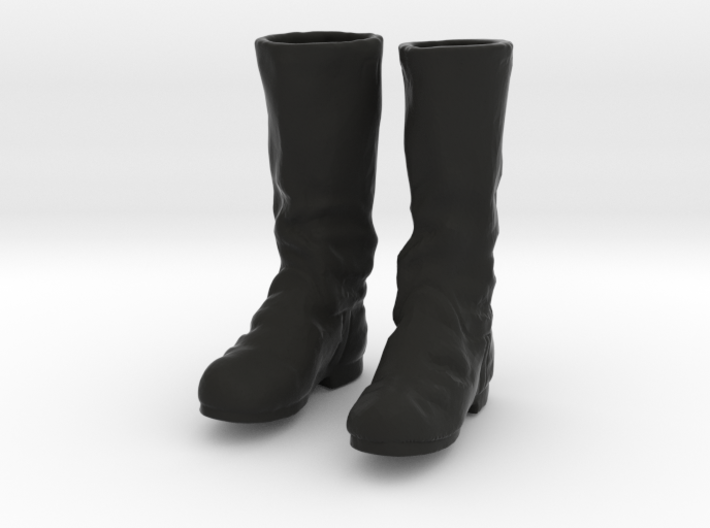 1-10 German Army Tall Boots Set1 3d printed