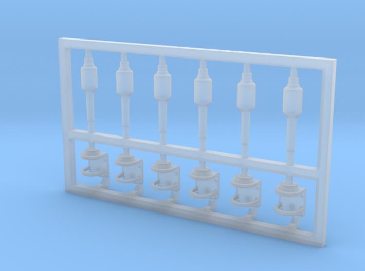 6 Stück Blitzboje mit Halter 3d printed