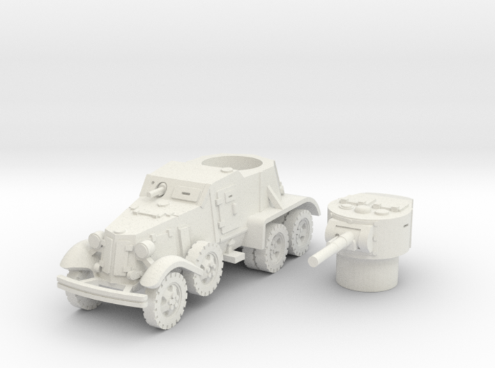 BA 36 with wheels (Soviet) 1/87 3d printed