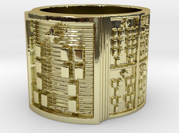 OJUANIOGUNDA Ring Size 11-13 3d printed