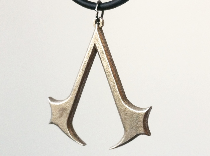Assassins Necklace Pendant - 1 1/2 Inch 3d printed