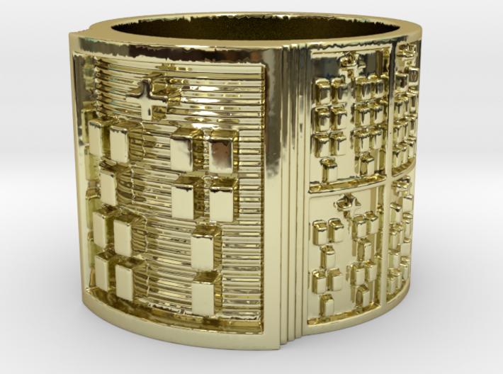OJUANIBOKA Ring Size 11-13 3d printed