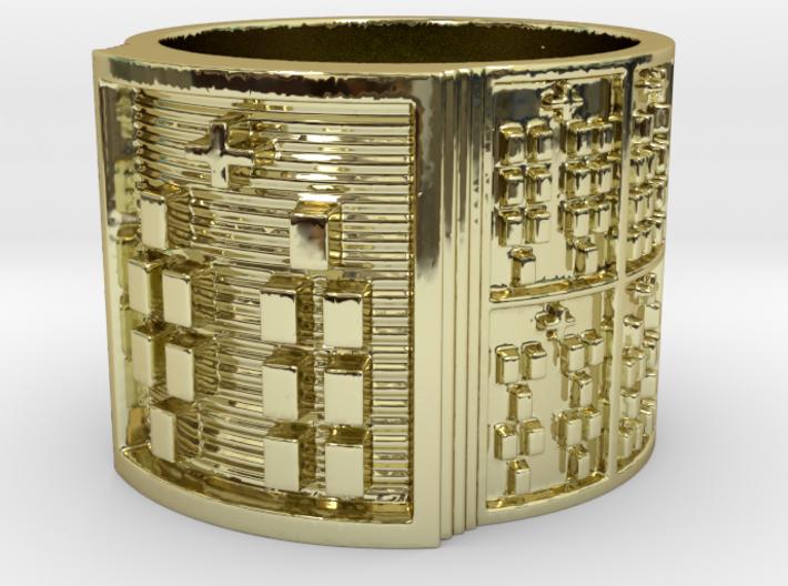 OBARADILA Ring Size 14 3d printed