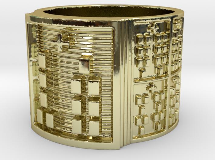 OBARAOGUNDA Ring Size 14 3d printed