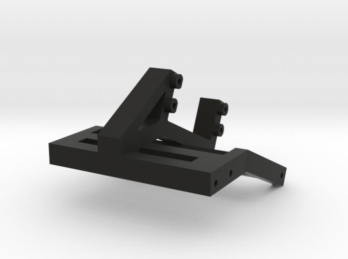 Servo Winch Bracket for SCX10 II 3d printed