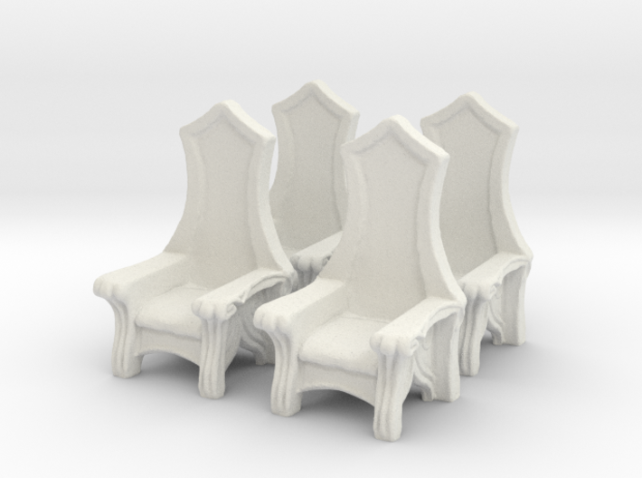 Chair: Elvish: V3 3d printed