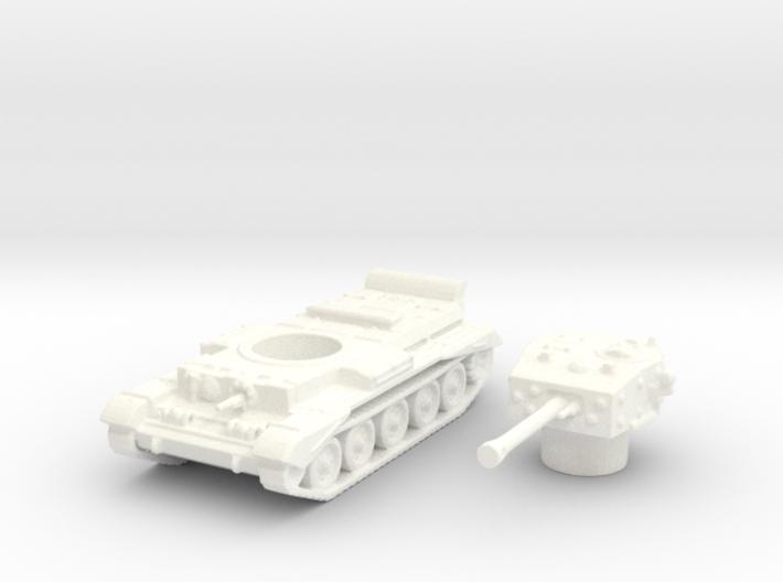 Cromwell IV Tank (British) 1/144 3d printed