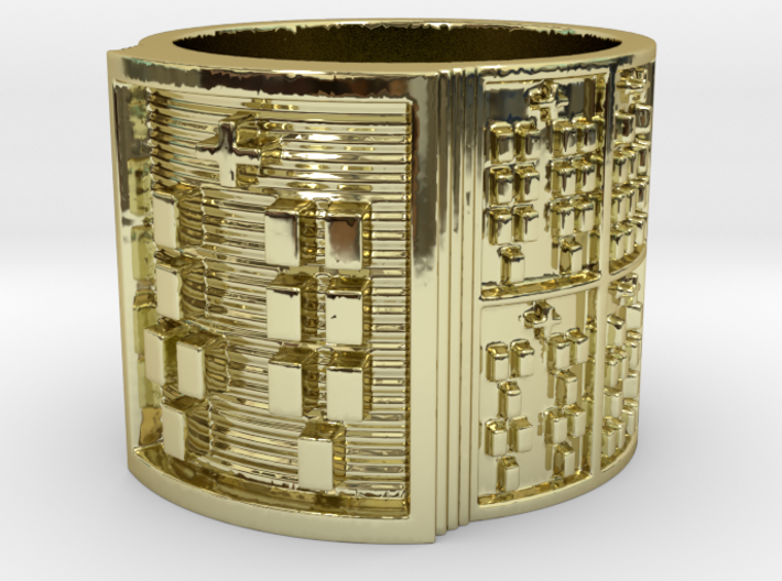 OKANAWETE Ring Size 11-13 3d printed