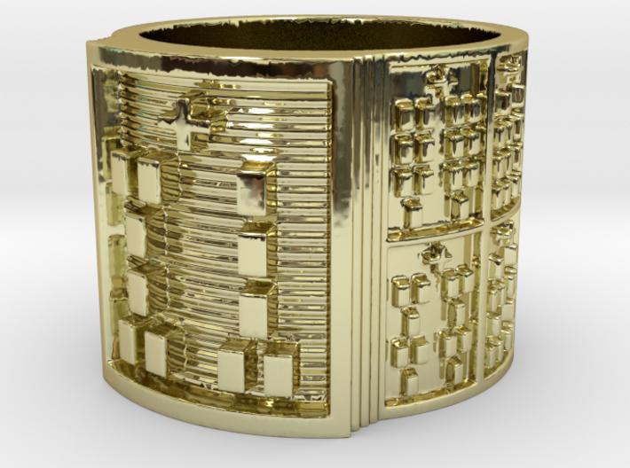 OGUNDAWORI Ring Size 11-13 3d printed