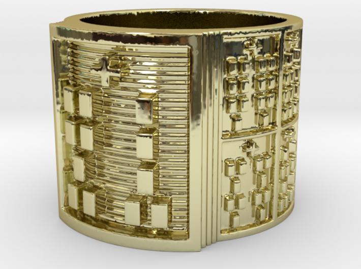 OGUNDATRUPON Ring Size 11-13 3d printed