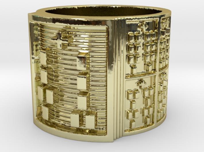 OGUNDAKETE Ring Size 11-13 3d printed