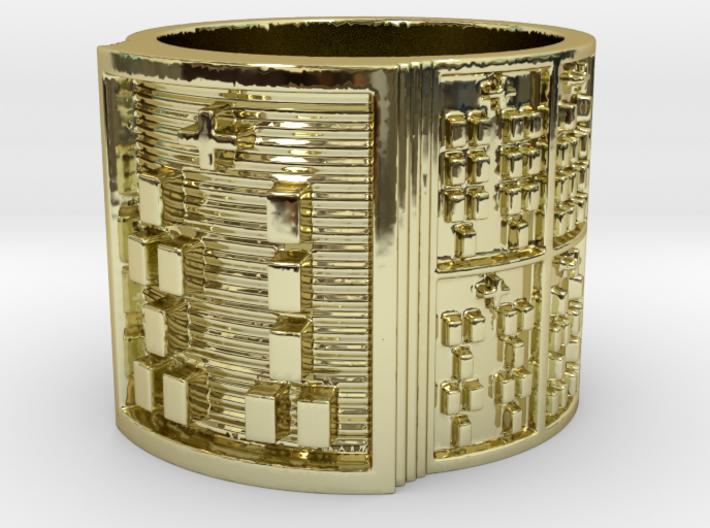 OGUNDASHE Ring Size 11-13 3d printed