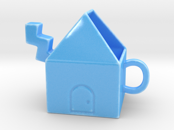 Kukka Teapot 3d printed