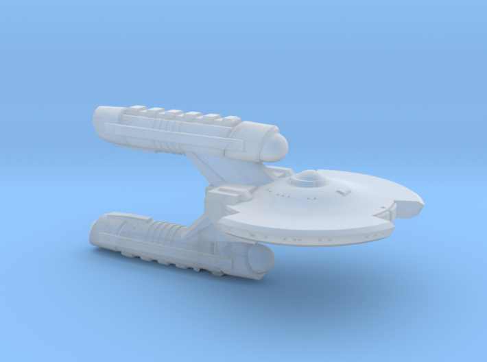 Terran Corvette II - 1:7000 3d printed