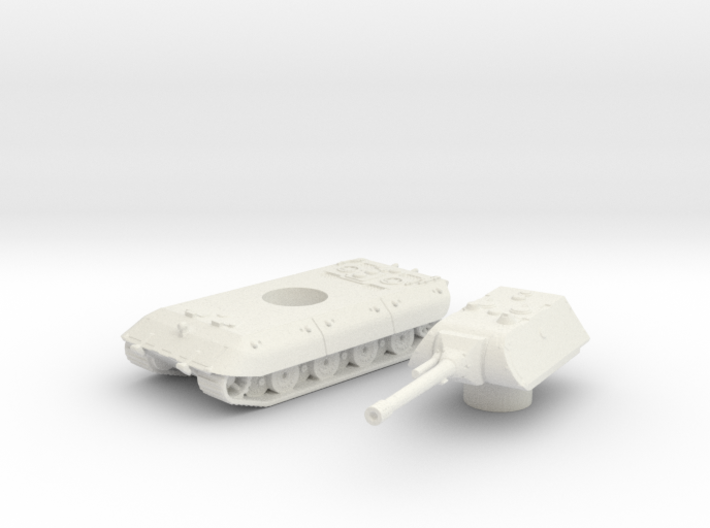 E-100 tank (Germany) 1/200 3d printed