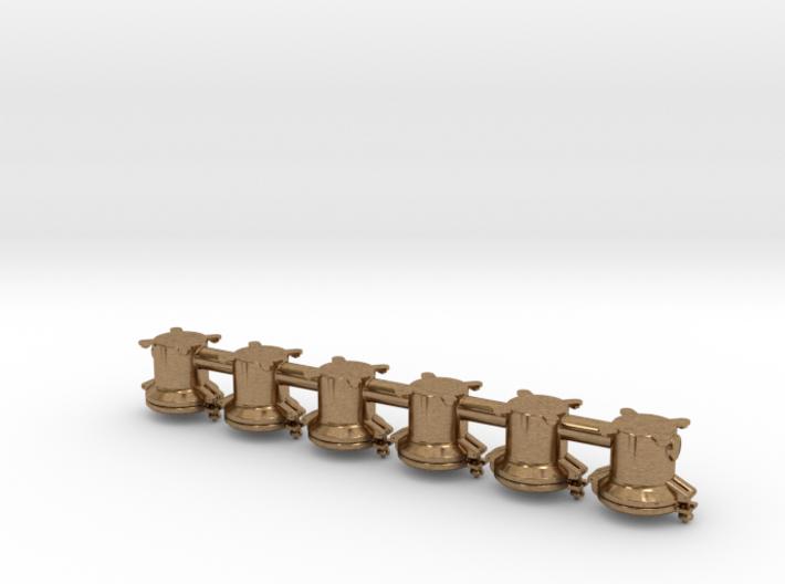 6 Triebwerkslampen für Dampflokomotive der DR 3d printed