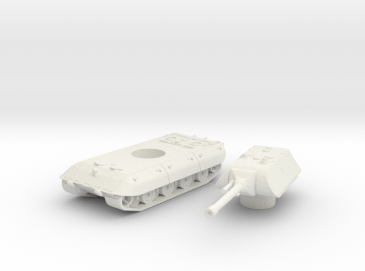 E-100 tank (Germany) 1/100 3d printed