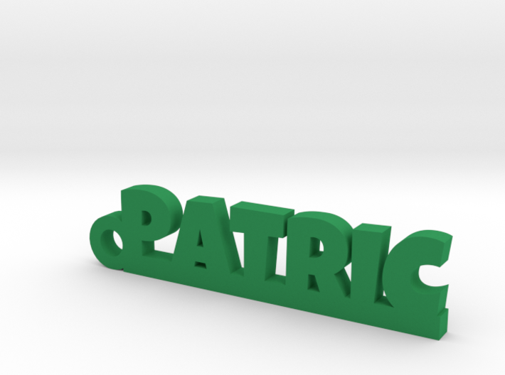 PATRIC Keychain Lucky 3d printed
