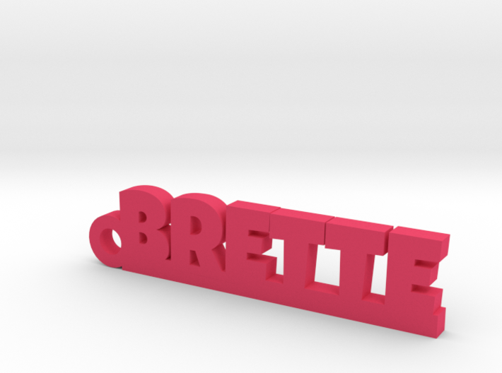BRETTE Keychain Lucky 3d printed