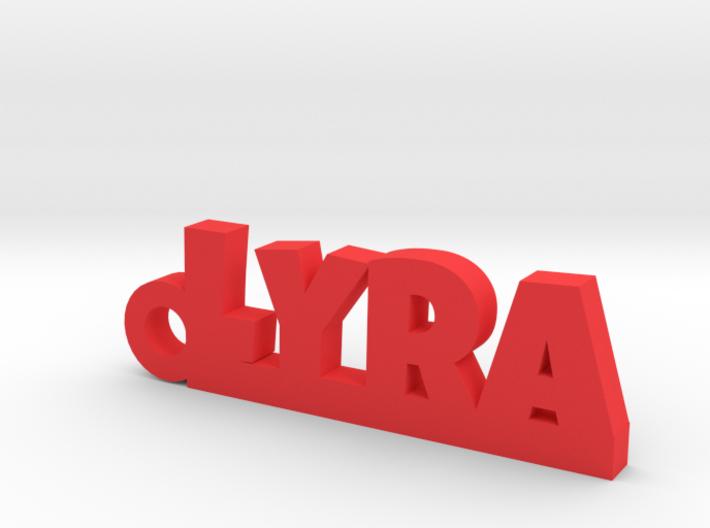 LYRA Keychain Lucky 3d printed