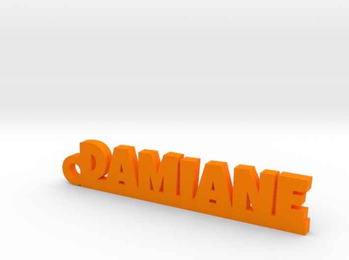 DAMIANE Keychain Lucky 3d printed