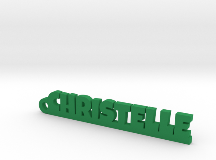 CHRISTELLE Keychain Lucky 3d printed