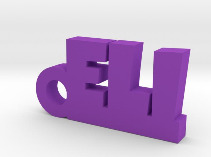 ELI Keychain Lucky 3d printed