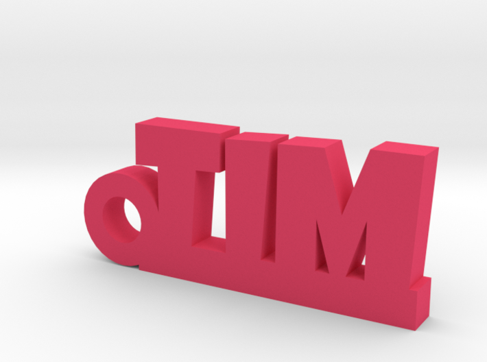 TIM Keychain Lucky 3d printed