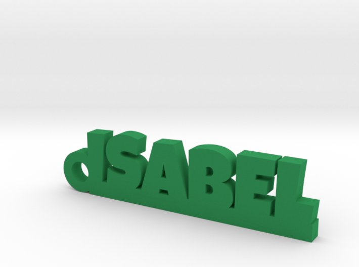 ISABEL Keychain Lucky 3d printed