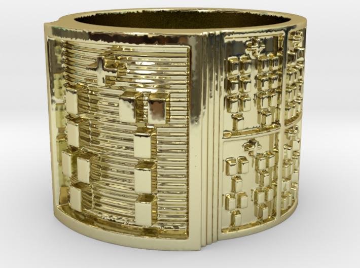 OSARETE Ring Size 13.5 3d printed