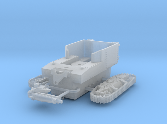 1/144 T1 HMC Howitzer Motor Carriage 3d printed