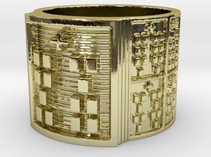 IKATRUPON Ring Size 14 3d printed