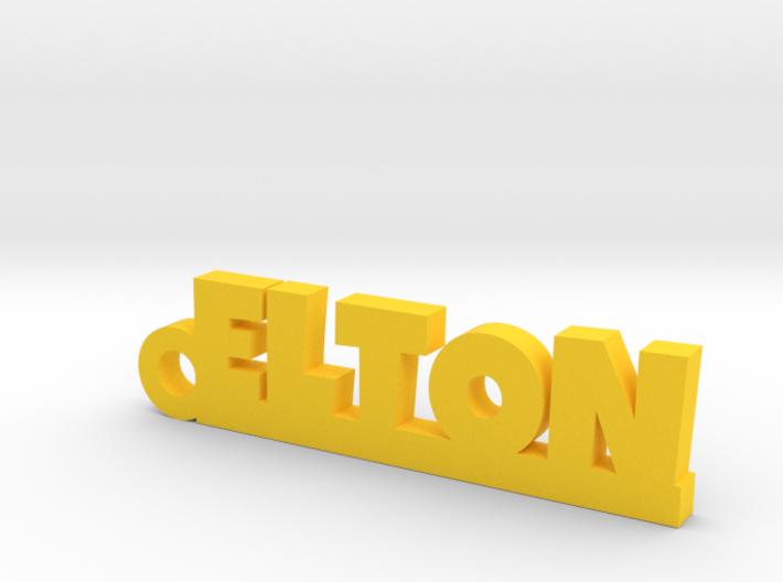 ELTON Keychain Lucky 3d printed