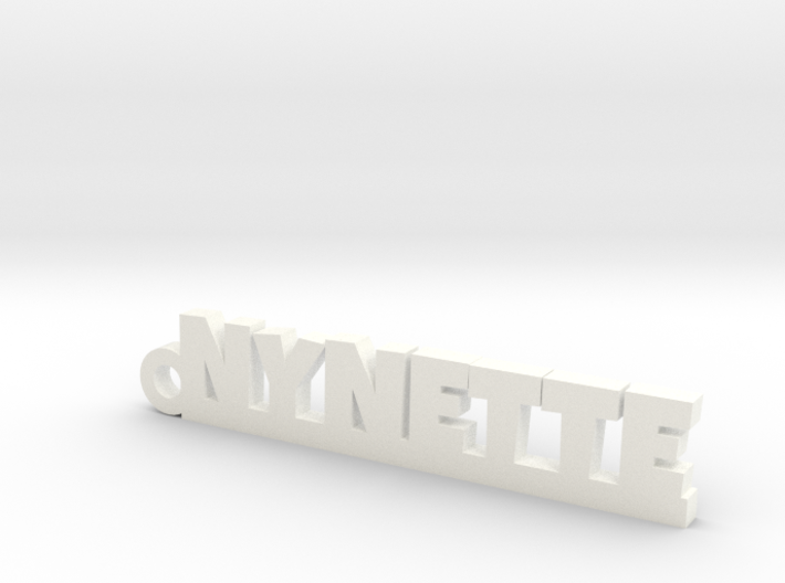 NYNETTE Keychain Lucky 3d printed