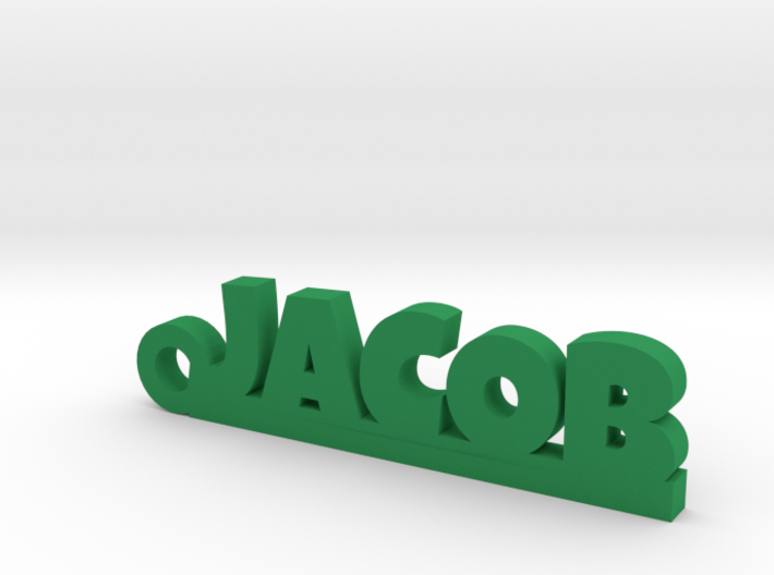 JACOB Keychain Lucky 3d printed