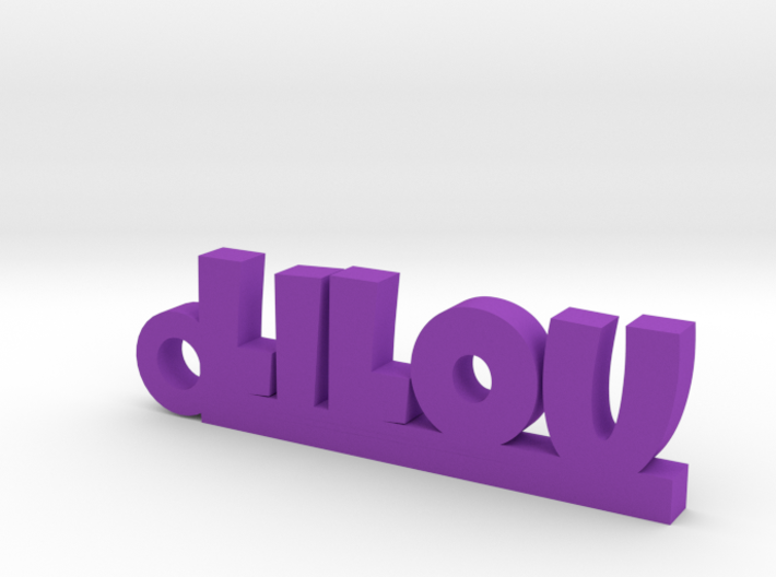 LILOU Keychain Lucky 3d printed
