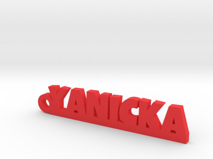 YANICKA Keychain Lucky 3d printed