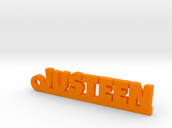JUSTEEN Keychain Lucky 3d printed