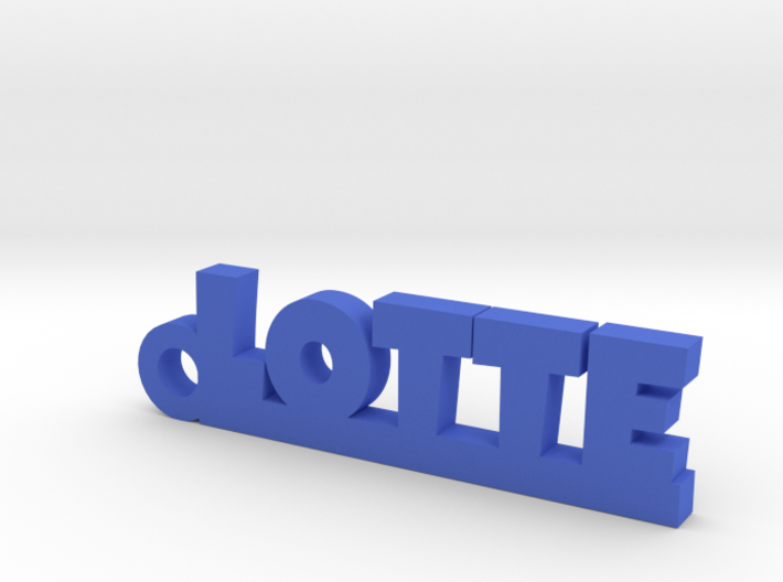 LOTTE Keychain Lucky 3d printed