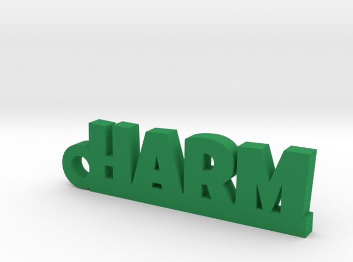 HARM Keychain Lucky 3d printed