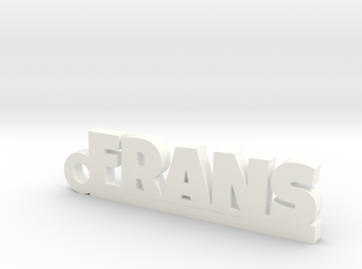 FRANS Keychain Lucky 3d printed