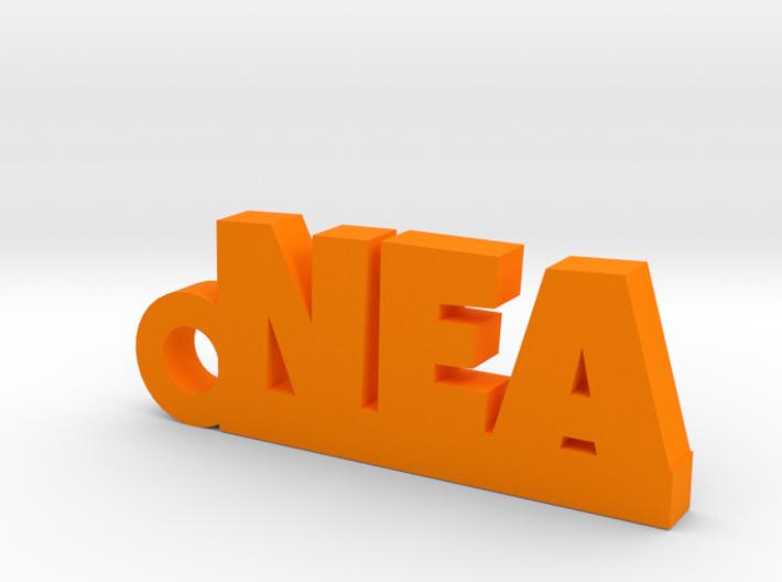 NEA Keychain Lucky 3d printed